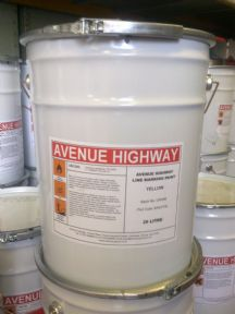 Avenue Chlorinated Rubber line marking paint 10 Litres